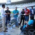 Em nova visita ao Mineirão, comissão identificou melhorias na acessibilidade