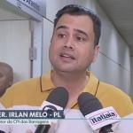 Alerta do vereador Irlan Melo sobre falta de abastecimento de água em BH é destaque na Globo