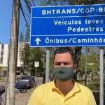 Barreiro – Protocolamos pedido à BHTRANS acordado em visita técnica