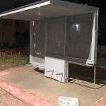 Novo abrigo de ônibus no Bonsucesso