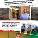 Enchentes na Av Tereza Cristina estão com os dias contados