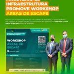 Ministério da Infraestrutura promove Workshop áreas de escape