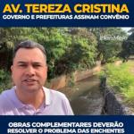 Chega de enchentes na Av. Tereza Cristina