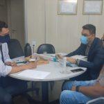 Irlan Melo se reúne com presidente da AUPD-MG