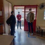 Visita na Escola Municipal Míriam Brandão