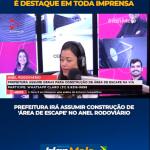 IMPRENSA DE MINAS REPERCUTE AS ÁREAS DE ESCAPE